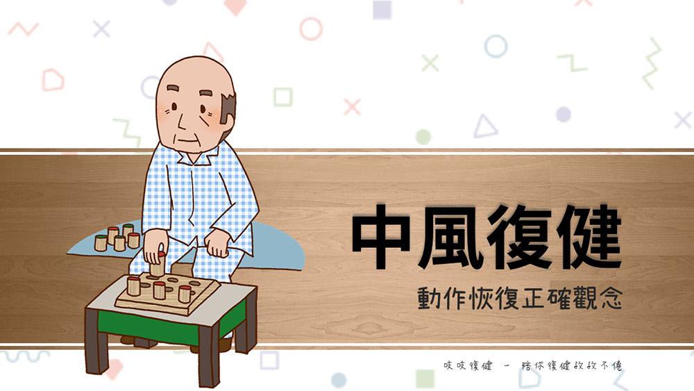 中風復健 – 動作訓練功能改善生活障礙!